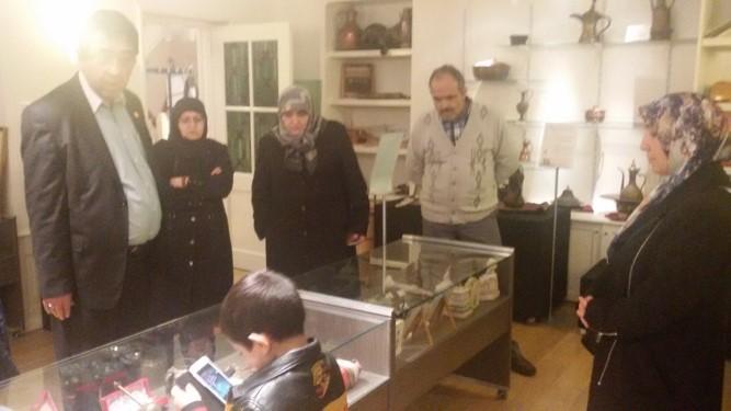 2015 HDV Mescidi Kuba Camii Turk Muzasi ziyareti 01