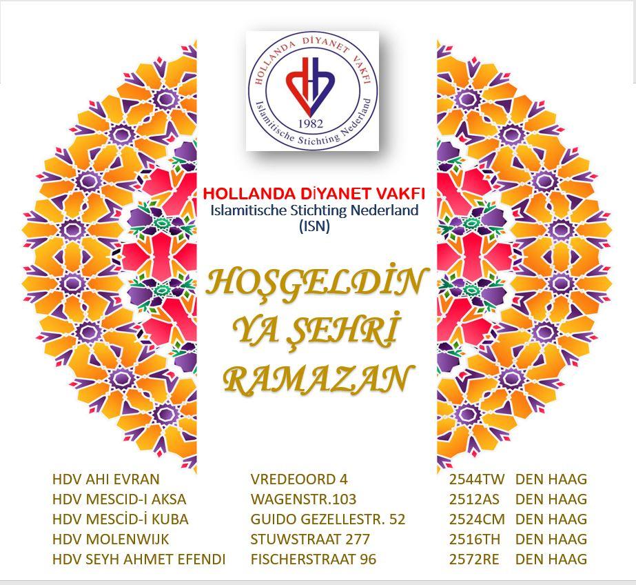 """""""Hoş Geldin Ya Şehr-i Ramazan"""""""